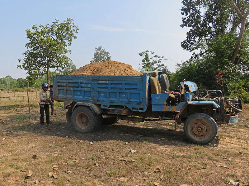camion de terre école
